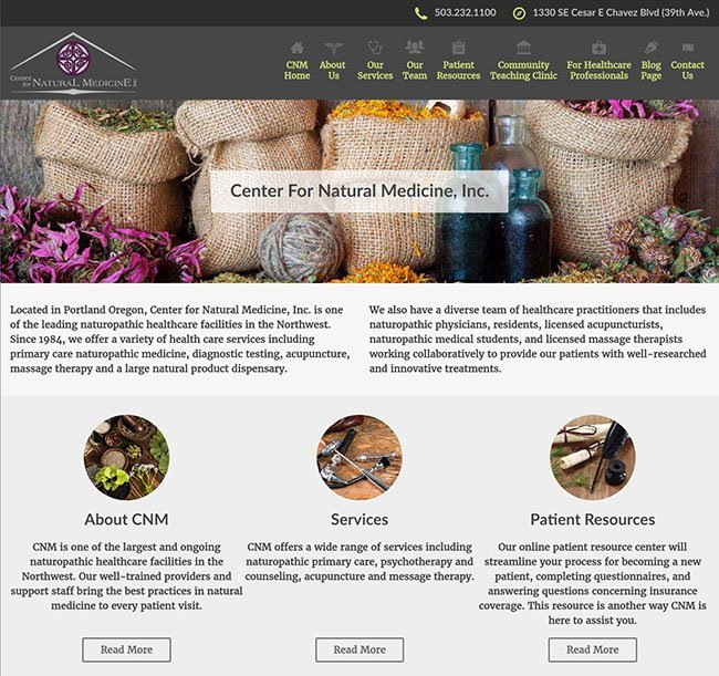 Thumbnail of CNMWellness.com Website
