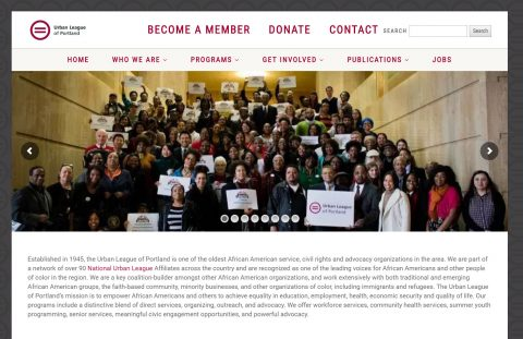 Thumbnail preview image of the Urban League of Portland